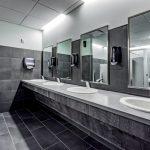 Commercial place washroom | The Carpet Shoppe