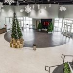 Commercial place xmas decoration | The Carpet Shoppe