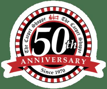 50th annivarsary | The Carpet Shoppe