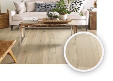 Hardwood flooring for living room | The Carpet Shoppe