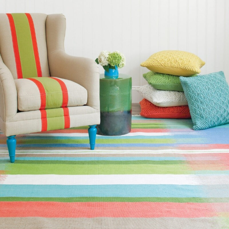 The Carpet Shoppe has modern rugs in stock, like this one.