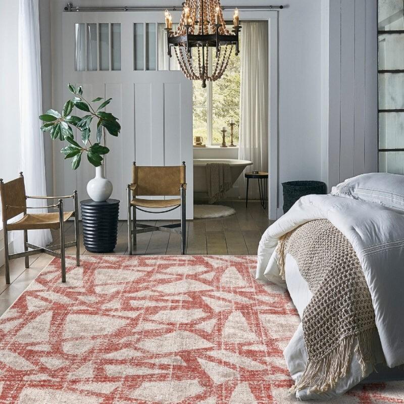 The Carpet Shoppe carries Scott Living by Karastan modern rugs like the one shown here.