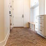 Glee chevron tile flooring   The Carpet Shoppe