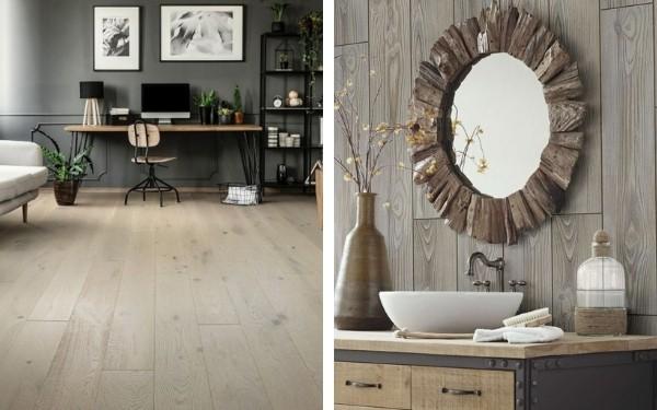 Wood Look Floors and Wood Look Wall Tile