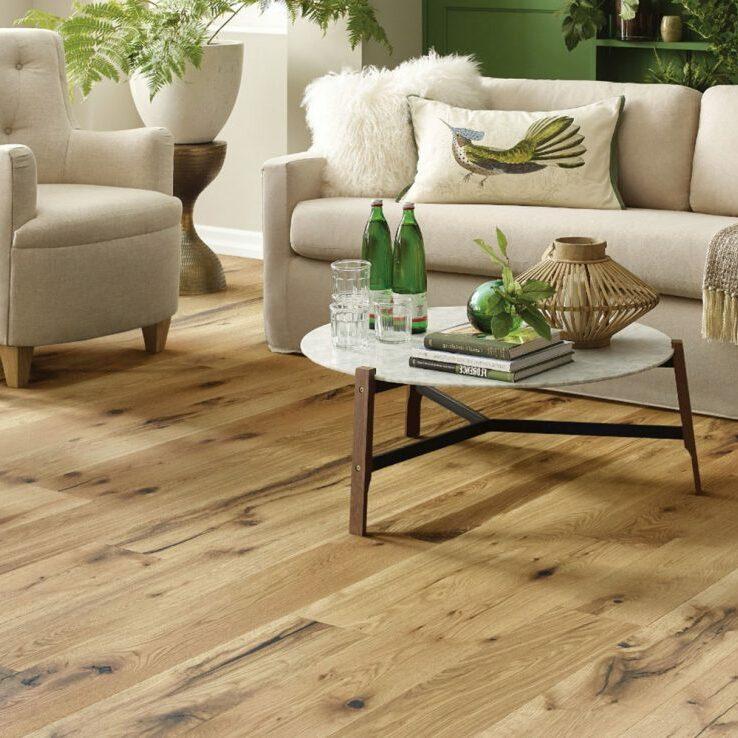 Hardwood flooring for living room   The Carpet Shoppe