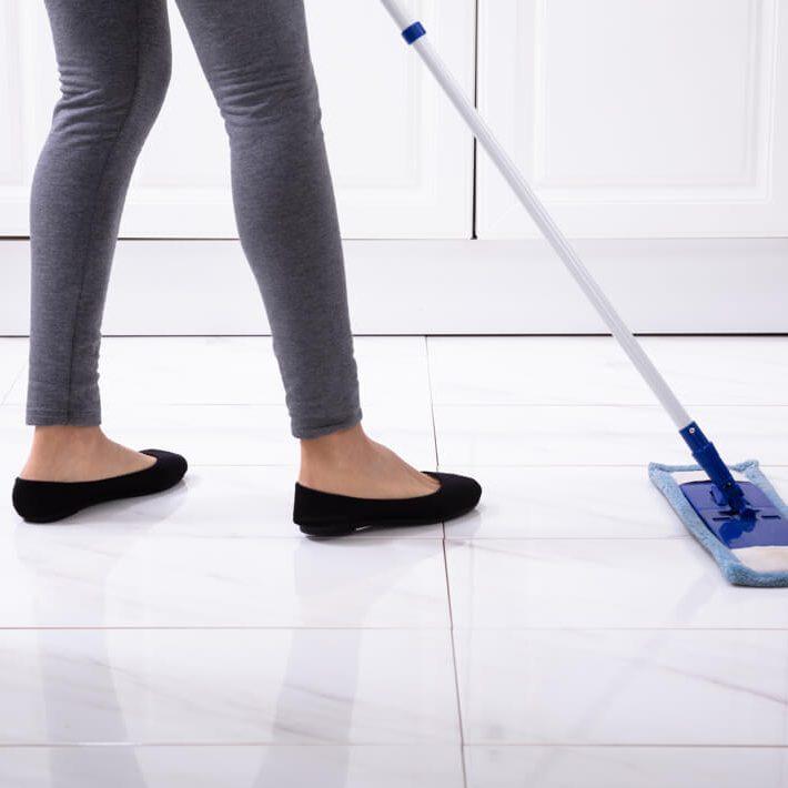 Sweeping tiles | The Carpet Shoppe